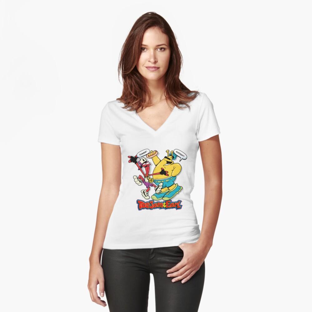 MD Classic 01 Camiseta entallada de cuello en V