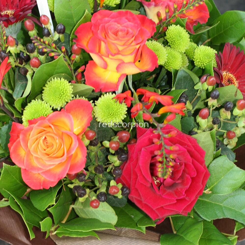 Bouquet by redscorpion