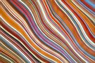 Wild Wavy Lines VII by Ray Warren
