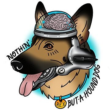 Nothin' But A Hound Dog by QuantumTattoo