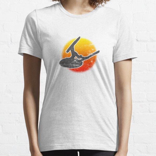 NX Class Warp 5 Starship 01 Ascend - Light Essential T-Shirt