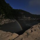 Moonbow over Cumberland Falls  by mltrue