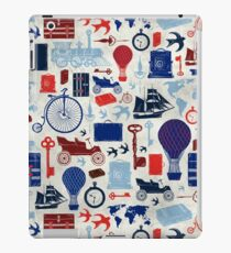 All Aboard to Explore Our Marvelous World - Vintage Travel from the Victorian Era iPad Case/Skin