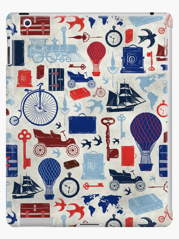 All Aboard to Explore Our Marvelous World - Vintage Travel from the Victorian Era by ZirkusDesign