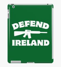 Defend Ireland iPad Case/Skin