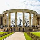 American Cemetery Memorial - Normandy by MikeSquires