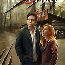 « The X-Files comic book cover- Hoot goes there? #1 » par Chimerart