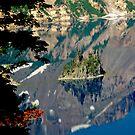 Island Reflection by Gene  Tewksbury