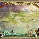 Story Book Map by Susan Schroder Arts