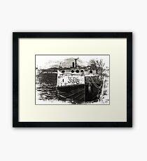 Fishing Vessel Shelly Framed Print