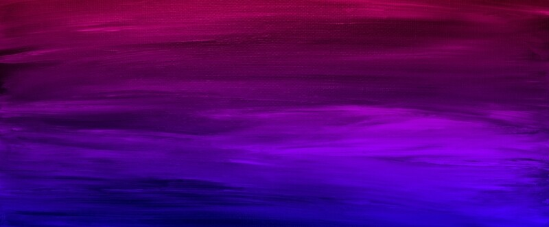 Pink And Blue Paintings Of Sunsets