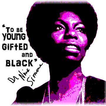Nina Simone by goldenanchor