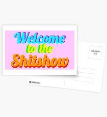 Willkommen in der Shitshow Postkarten