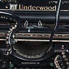 Close Up of Octo Typewriter by octotypewriter