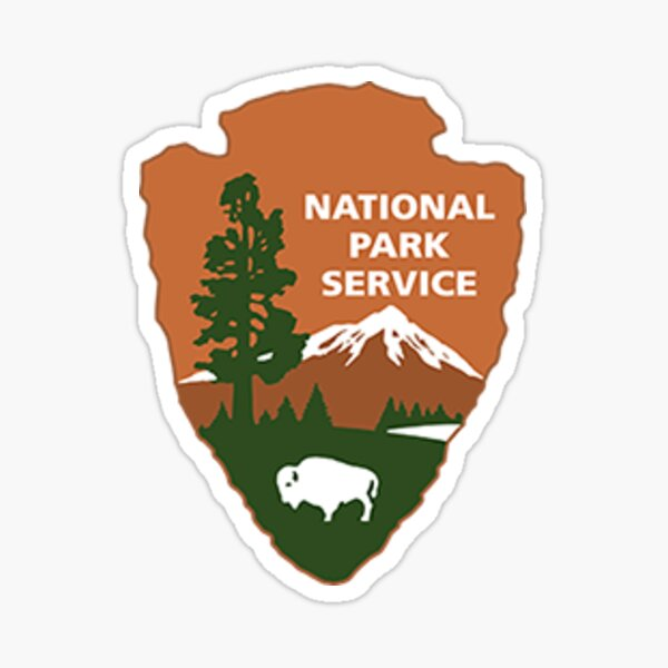 National Park Service Logo Small Sticker