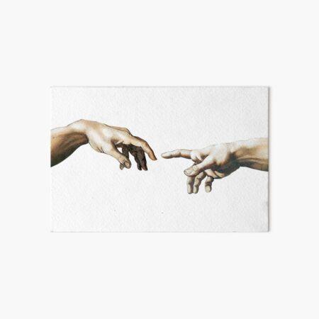 Hand of God Art Board Print