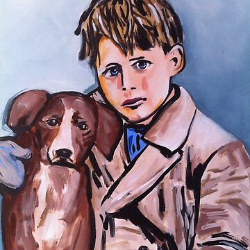 boy and dog by Marianneu