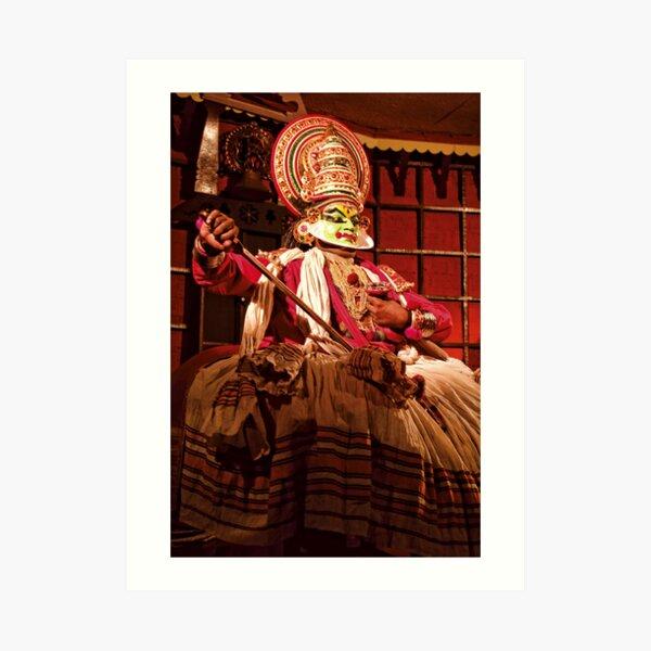 Kathakali Dancer - India Art Print