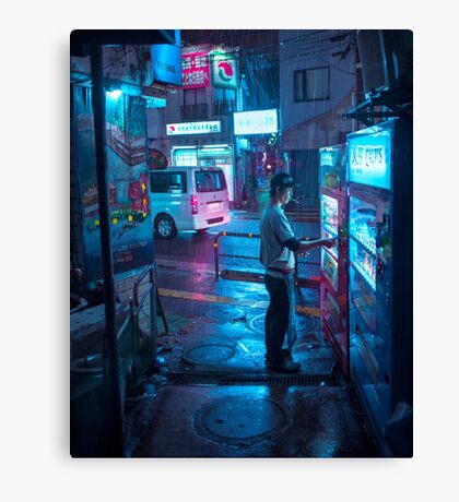 Coffee and Cigarette - Vertical Canvas Print