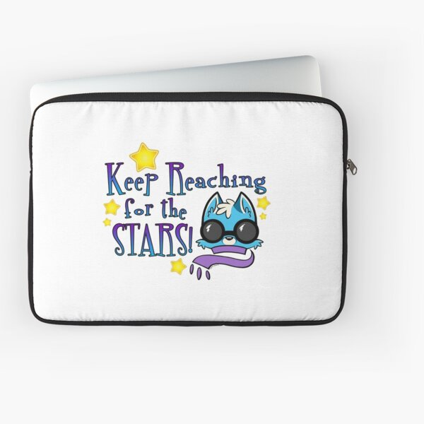 Keep Reaching for the Stars! Laptop Sleeve