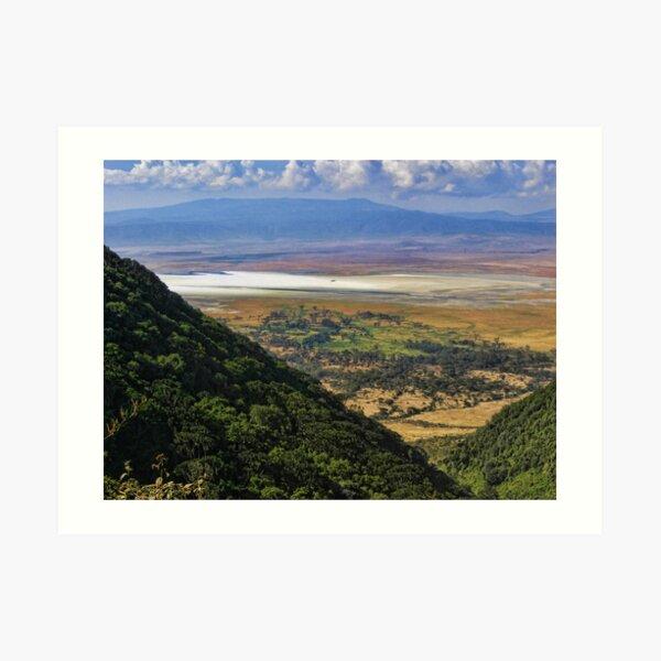 Ngorongoro Crater, Tanzania, Africa Art Print