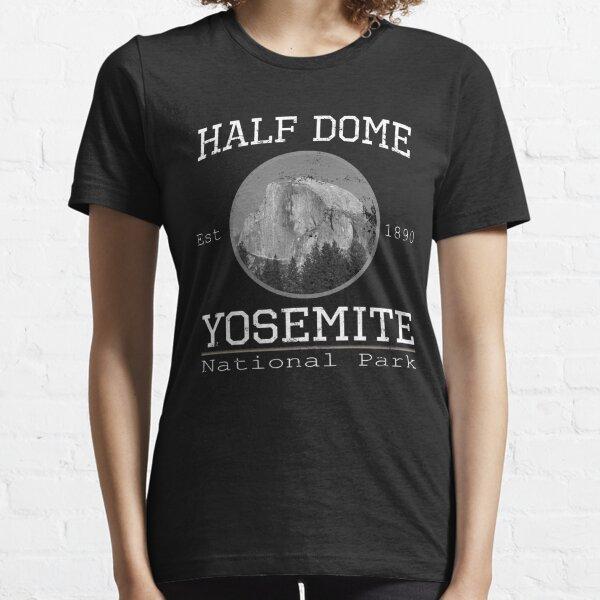 Half Dome Yosemite National Park Vintage Design Essential T-Shirt