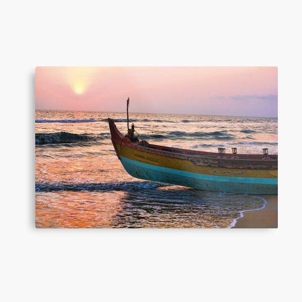 Varkala Beach, Kerala, India Metal Print