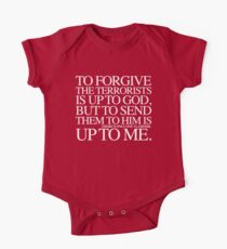 To forgive The Terrorists is up to God but to send them to him is Up To Me. One Piece - Short Sleeve