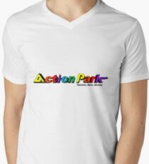 Action Park (Traction Park) - Vernon, New Jersey Men's V-Neck T-Shirt