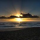 Mollymook Beach Sunrise by Sam Ilic