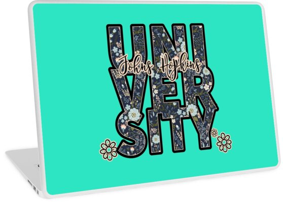 University and College | Batik Floral | P2 | Johns Hopkins University by SunnyCollegeDay
