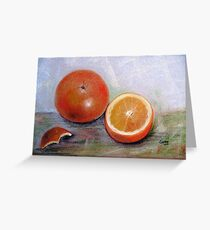 Simple delicious, Pastel painting Greeting Card
