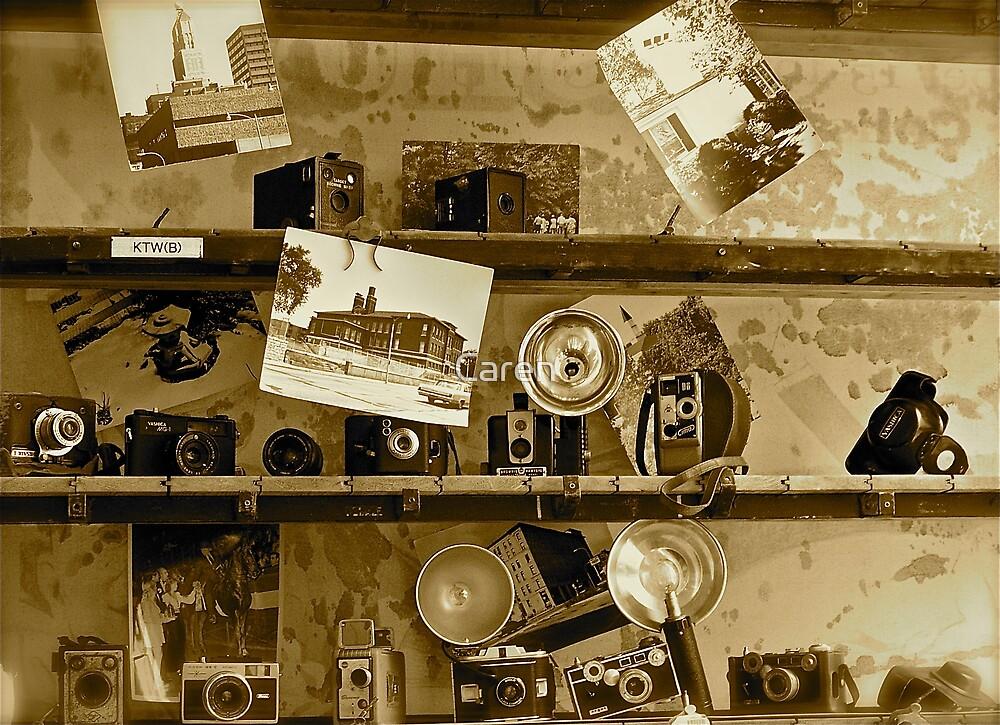 Old Cameras by Caren