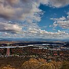 Canberra From Top Of Mount Ainslie :: Vertorama by Sam Ilic