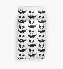 Bad Panda Stencil Duvet Cover
