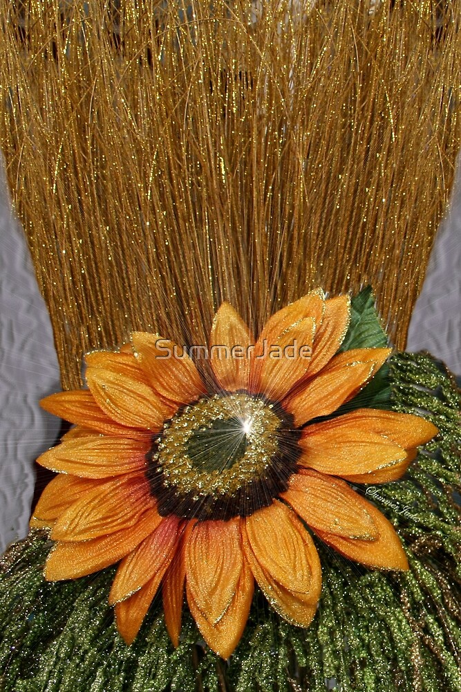 Sunflower Bling ~ Straw into Gold by SummerJade