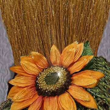 Sunflower Glitz ~ Straw into Gold by SummerJade