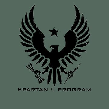 Halo Spartan II Program Insignia Weathered by teethehee