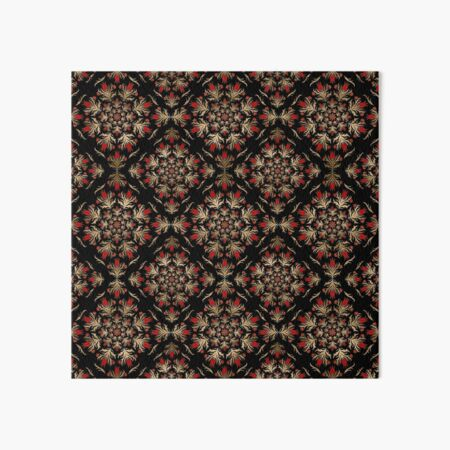 Turkish tulip - Ottoman tile pattern  Art Board Print