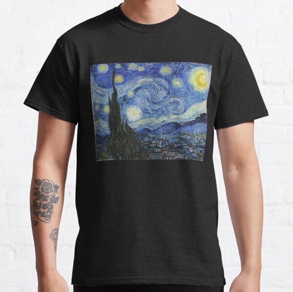 Noche estrellada de Vincent Van Gogh Camiseta clásica