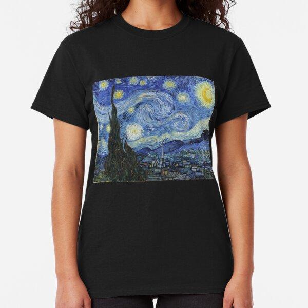 Vincent Van Gogh starry night Classic T-Shirt