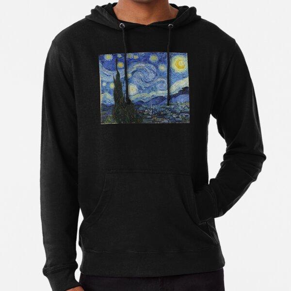 Vincent Van Gogh Sternennacht Leichter Hoodie