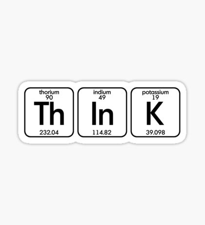 Think Sticker