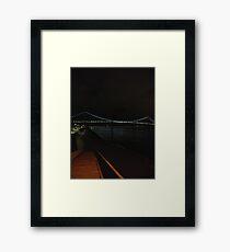 Verrazano Narrows Bridge, #Verrazano, #Narrows, #Bridge, #VerrazanoNarrowsBridge, #VerrazanoBridge Framed Print