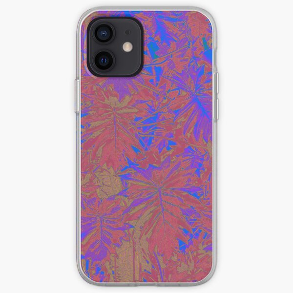 Blue Red Rainforest iPhone Soft Case