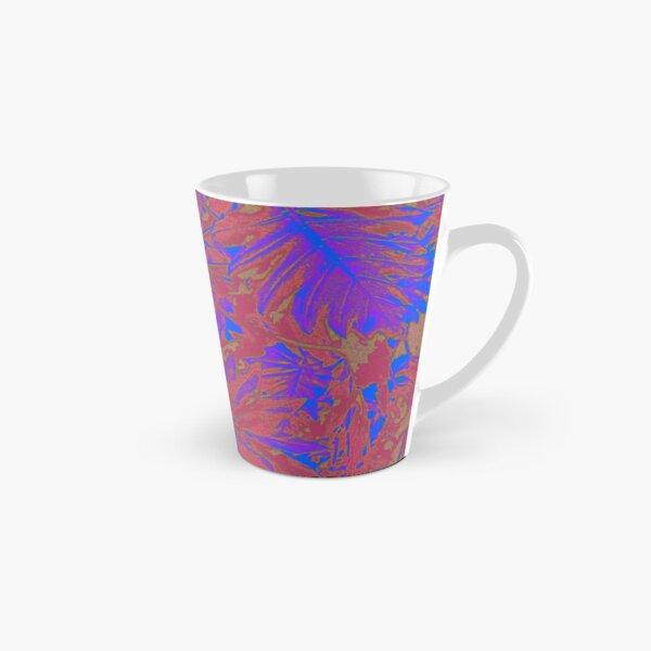Blue Red Rainforest Tall Mug