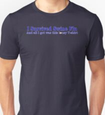 I Survived Swine Flu Unisex T-Shirt