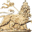 Lion of Judah Sticker by rastaseed