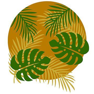 summer palms by Turiddu