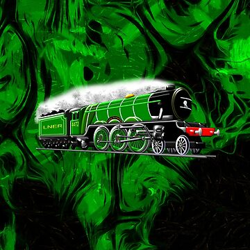 The Steam Locomotive Flying Scotsman 1923 by ZipaC